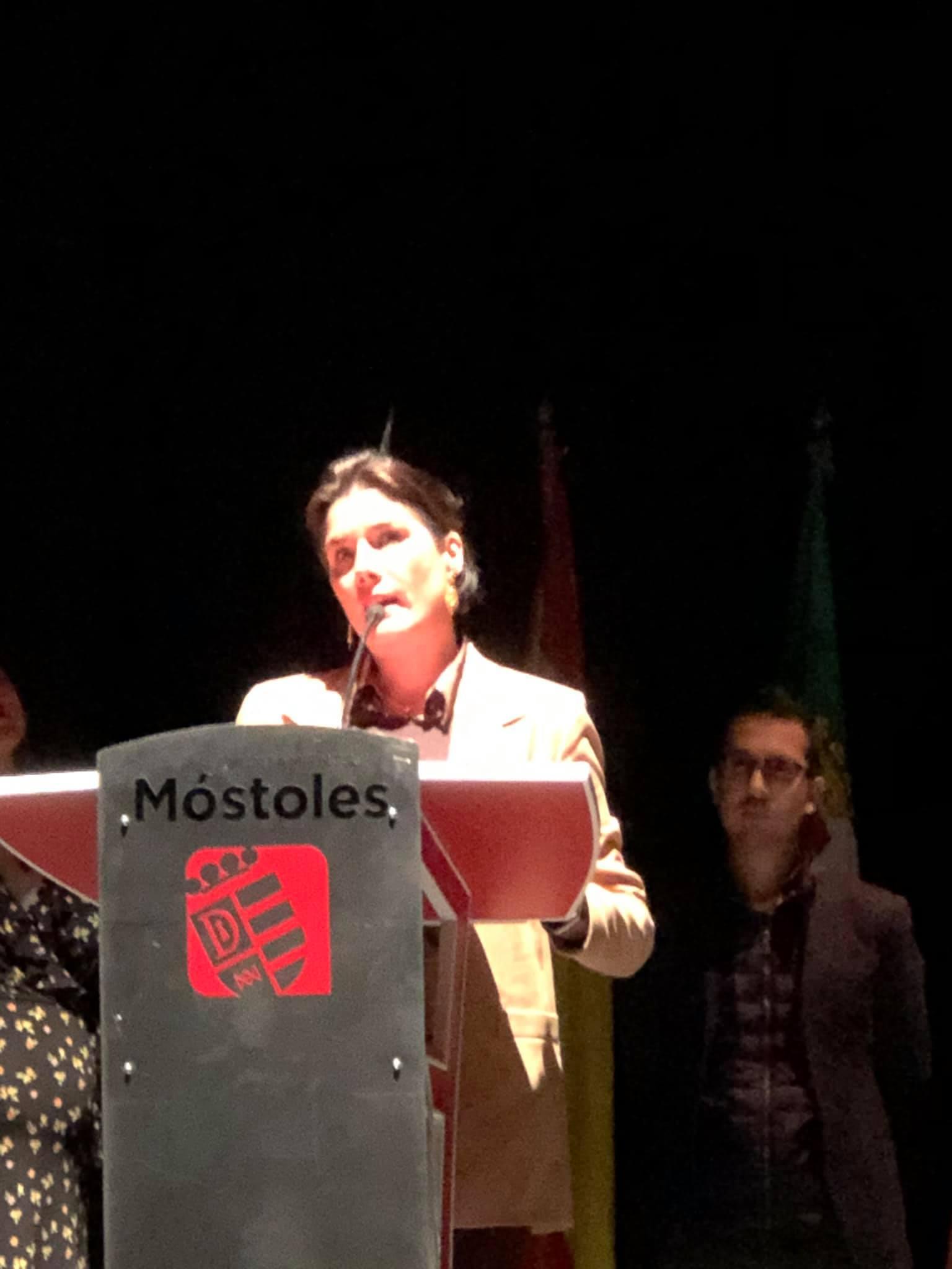 Premios encina de oro - Elisa Barrientos - Del equipo de Dirección de Acción Exterior de la Junta de Extremadura
