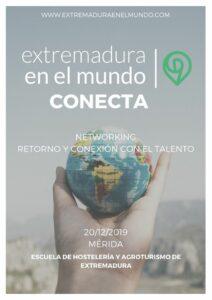 Cartel del evento CONECTA 2019: Cita sobre el Retorno y la Conexión con el Talento