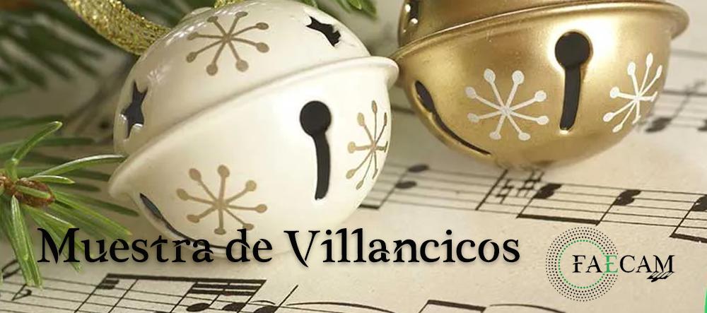 Cartel Villancicos FAECAM
